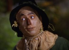 The scarecrow face prosthetics that Ray Bolger wore left a pattern of lines on his face that took more than a year to vanish.