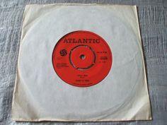 Sonny & Cher Little Man b/w Monday ORIG U.K. ATLANTIC 45 UNSOLD SHOP STOCK EX+ | eBay