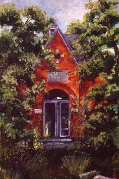Gedda Runyon Starlin, Brushwood School, Adams County, Indiana on ArtStack #gedda-runyon-starlin #art