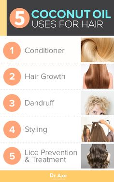 CoconutOil Hair Uses