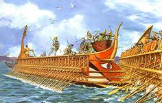 """The Battle of Lade (Ναυμαχία τῆς Λάδης) was a naval battle which occurred during the Ionian Revolt, in 494 BC"""