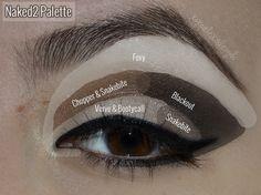 - XOXO Alexis Leigh: Naked2 Palette - Slightly Smokey