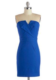 Azure About It Dress, #ModCloth