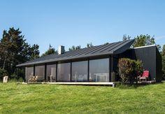 knud holscher arkitekt / aerodynamisk sommerhus, odsherred
