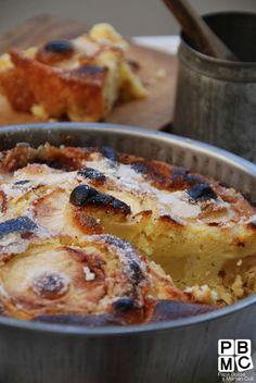 Gâteau aux pommes à l'ancienne, idéal pour le dimanche à goûter. #FamiHero
