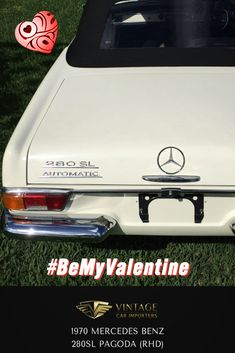 Meet Katarina, she loves nature and likes taking the scenic route everywhere. Katarina loves it when you pay attention to the details...   1970 Mercedes Benz 280SL Pagoda  #BeMyValentine #ClassicCars #VintageCars #Mercedes #ValentinesDay