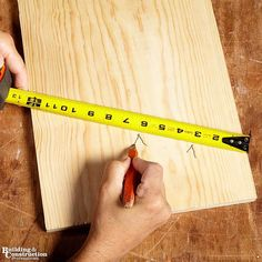 If you do any amount of carpentry or woodworking in your professional life, you're practically guaranteed to have a use for at least one of these tips and tools.