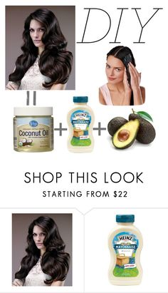 """Easy Hair Mask"" by elizabeth-912 ❤ liked on Polyvore featuring beauty"