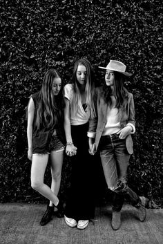HAIM  currently my favourite band. i can't stop jamming to 'forever'. i also really love 'better off'.