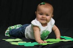 Check out my baby in the BabyCenter photo contest: Babies in Green!  Please vote for her!