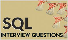 Most popular SQL Developer Technical Interview Questions with examples of the best Answers for each question and tips for various SQL Developer Interviews in Top Companies.