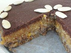 "Vegagyerek: Az első ""NYERS"" tortánk (cukormentes!) Raw Cake, Winter Food, Banana Bread, Good Food, Food And Drink, Low Carb, Gluten Free, Diet, Vegan"