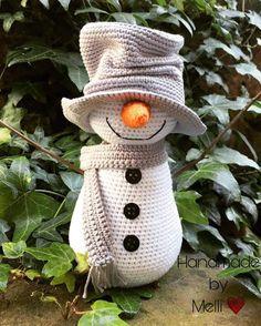 Animal Knitting Patterns, Crochet Patterns Amigurumi, Crochet Blanket Patterns, Crochet Dolls, Crochet Christmas Stocking Pattern, Crochet Snowman, Crochet Christmas Decorations, Crochet Deer, Crochet Teddy