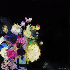 Ali McNabney -Stevens original artwork. Original artwork- acrylic and oil on canvas. Size: 80 x 80 cm This artwork is sold unframed. DELIVERY TIMEFRAMEMost of