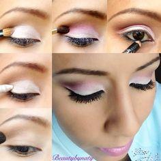 Eyeshadow technique.