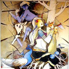 Painting Of Girl, Mural Painting, Tango Art, Composition Painting, Kalamkari Painting, Krishna Painting, Indian Art Paintings, Hindu Art, Indigenous Art
