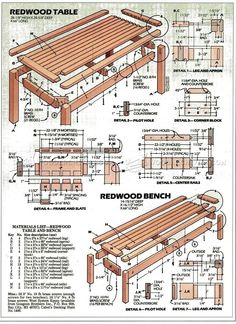 #1264 Outdoor Table and Bench Plans - Outdoor Furniture Plans  sc 1 st  Pinterest & NOVUS2. This Zero Gravity recliner is not your average Zero ... islam-shia.org