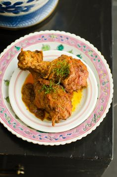 Malaysian Recipe: Nyonya Kapitan Chicken Curry