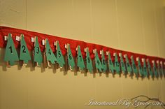 DIY Advent Calendar for Broke People Who Line Dry Their Clothes - Intentional By Grace