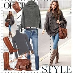 cold day outfit by vecka g