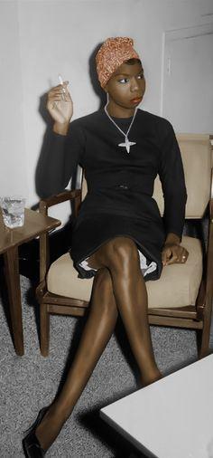 "Nina Simone...nobody sings "" Feelin' Good ""  any better...!"