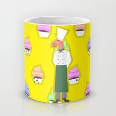 Pastry Chef Unicorn Mug by That's So Unicorny | Society6