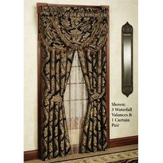 Hanover Damask Window Treatment by J Queen New York