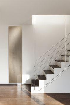 Termoarredo a pannello verticale in Olycale® BETON Collezione Contemporain by CINIER Radiateurs Contemporains | design Michel Cinier