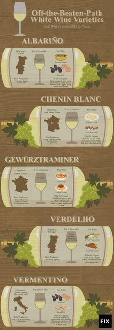 Off-the-Beaten-Path White Wine Varieties | Fix.com