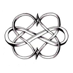Could be a cute tattoo idea. Two hearts intertwined with an infinity sign. Each heart in the birthstone colour for him and her, and the infinity sign in the birthstone colour for the month they got married. Piercings, Piercing Tattoo, Mother Daughter Tattoos, Tattoos For Daughters, Mother Daughters, Sister Tat, Mother Daughter Celtic Knot, Tattoos For Children, Tattoo Infinito