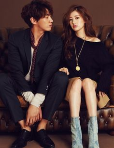 KOREAN MODEL • Kim Young Kwang, Jung So Min by Lee Su Jin for...