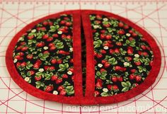 Learn how to make a potholder in 60 minutes using simple easy sewing techniques with a free sewing tutorial from Nancy Zieman Productions. Nancy Zieman, Sewing Hacks, Sewing Tutorials, Sewing Crafts, Sewing Tips, Sewing Patterns Free, Free Sewing, Blog Art, Quilted Potholders