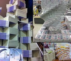 The avant-garde art of book stacking in stores: Japan