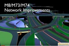 BIM M74 interchange