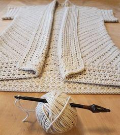 Crochet Cardigan Pattern, Crochet Jacket, Crochet Shawl, Knit Crochet, Crochet Patterns, Crochet Hooks, Crochet Vests, Crochet Sweaters, Shawl Patterns