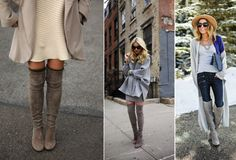 Inspiratie: over the knee boots