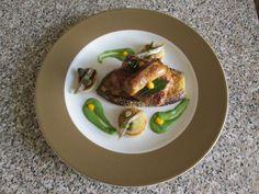 JHS / Salsiccia   melenzana  e patata il piccante''( cipolla  acciughe e  salsa  verde   al peperoncino)''  della  ricetta  Gino D'Aquino