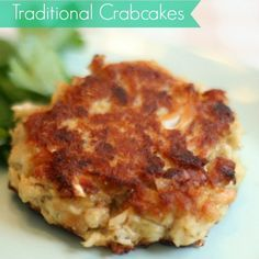 Crab Cakes Recipe Appetizers with crabmeat, Ritz Crackers, eggs ...