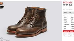 Grenson Tommy Boots