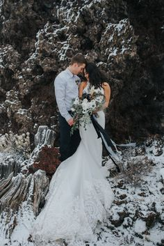 Phases of the Moon Wedding Inspiration at Craters Of The Moon National Monument