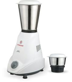 Amazon- Buy Singer Jiffy 500-Watt Mixer Grinder (White) for Rs 1099