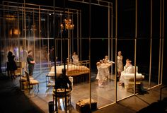 Cat on a Hot Tin Roof. Triad Stage. Scenic design by Josafath Reynoso.