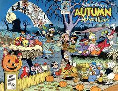 Cover for Walt Disney's Autumn Adventures (Disney, 1990 series) #2