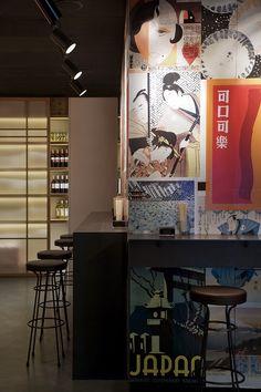 Iluminación de restaurantes. Iluminación de Taberna Wabi-Sabi de Sandra Tarruella Interioristas.