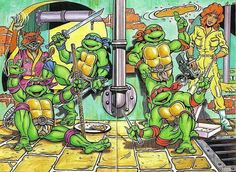 Turtles Power