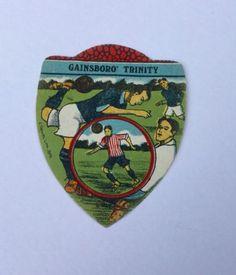 Cigarette Card Baines Football Cards Gainsborough Trinity