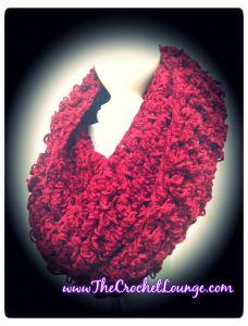 Velvet Crush Infinity Scarf - Free Crochet Scarf Pattern #TheCrochetLounge.com