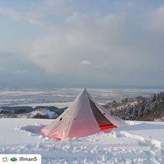 いいね!434件、コメント1件 ― LOCUS GEARさん(@locusgear)のInstagramアカウント: 「Khufu CTF3 + mesh inner on the snow. Thanks!  Repost from @illman5:#locusgear #khufu」