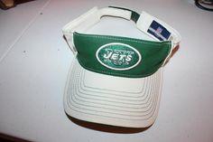 New York Jets Football Visor Vintage NFL Team Visor NYJ Fan