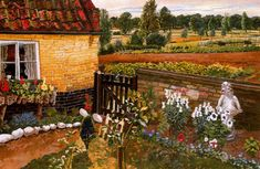 Cottage at Wangford - Stanley Spencer, 1937